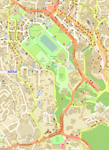 Burnham Park Map Burnham Park (Baguio)   Wikipedia