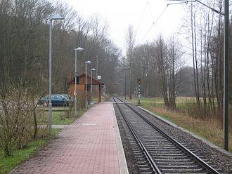 Kraich Valley Railway - Bahnbrücken station