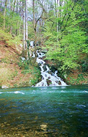 Domogled-Valea Cernei National Park - Image: Baile Herculane . Parc National vallée de la Cerna Domogled