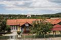Balatonakali, kindergarten and the Pántlika castle on the hill.jpg