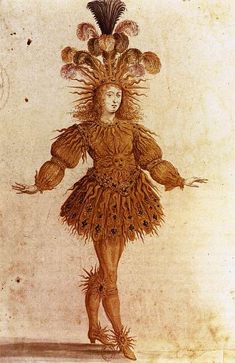 Ballet - Louis XIV as Apollo in the Ballet Royal de la Nuit (1653)