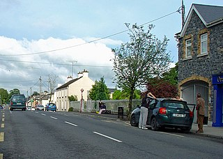 Ballivor Village in Leinster, Ireland