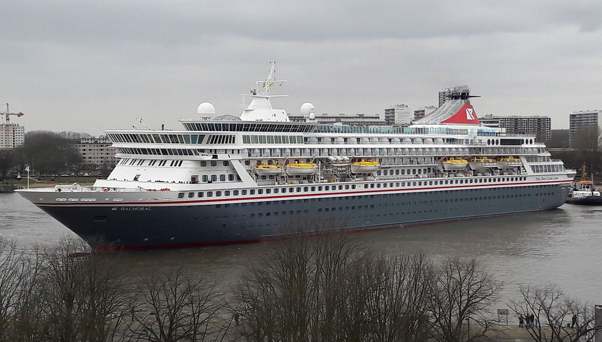 MV Balmoral Wikipedia - Cruise ship turns over