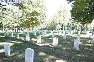 Baltimore National Cemetery - Image: Baltimore National Cemetery 2