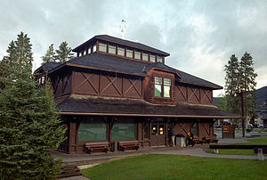 English: Banff Park Museum National Historic S...