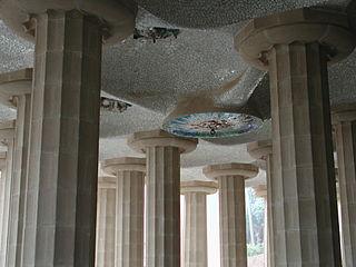 Barcelona Parc Güell colonne doriche.jpg