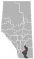 Barons, Alberta Location.png