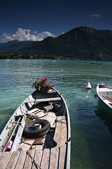 Lac d'Annecy : retour à l'état pur dans LACS DE FRANCE