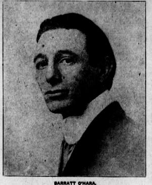 Barratt O'Hara - Image: Barratt Ohara 1912