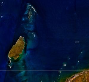 Barrow Island (Western Australia) - NASA World Wind image