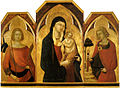 Bartolomeo Bulgarini. The-madonna-and-child-with-saints. about 1335. Siena, Pinacoteca Nazionale.jpg