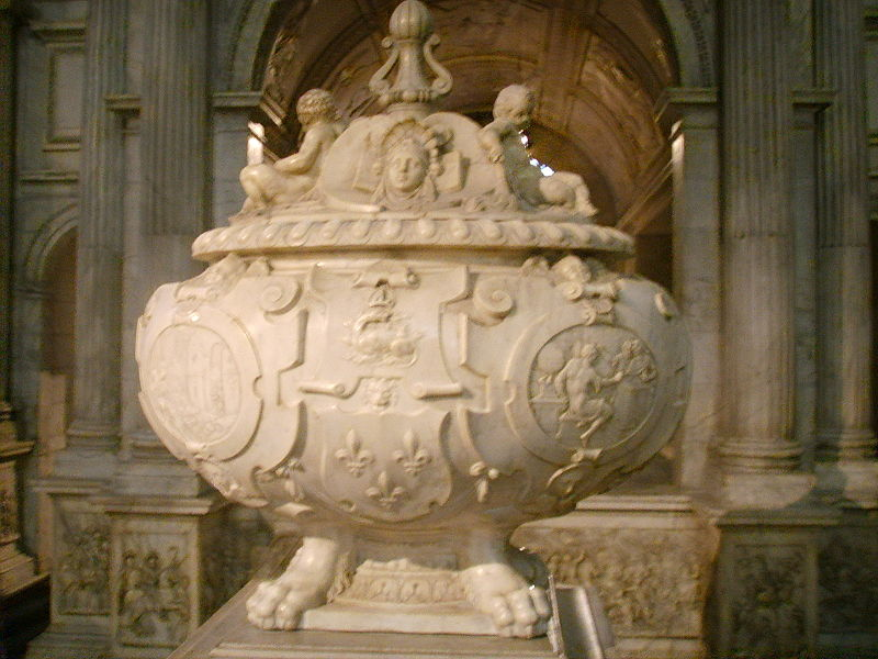 Basílica de Saint Denis urna di francesco i.jpg