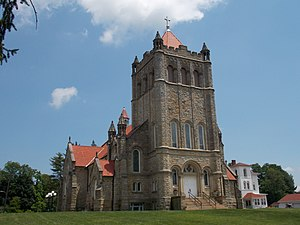 Loretto, Pennsylvania - Basilica of St. Michael the Archangel