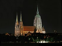 Basilika Sankt Paul Munich by night.jpg