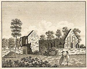 Basingwerk Monastery, in Flintshire