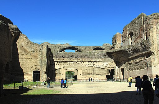 Bath of Caracalla Rome 2011 3