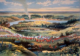Битва Batoche Печать на Seargent Grundy.jpg