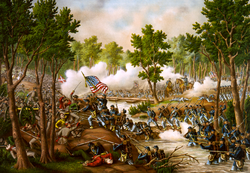 Battle of Spottsylvania di Kurz e Allison