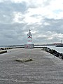 Beacon on Old Pier, Headland - geograph.org.uk - 2090589.jpg