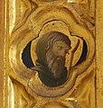 Beato angelico, pala strozzi della deposizione, con cuspidi e predella di lorenzo monaco, pilastrino sx 03.JPG