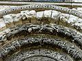 Beauvais (60), église Saint-Étienne, portail nord, détail des archivoltes 2.JPG