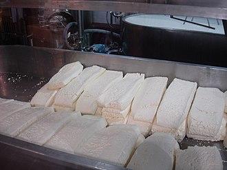 Beecher's Handmade Cheese - Cheese being prepared at Beecher's Handmade Cheese