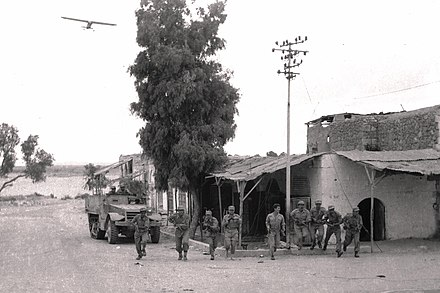 IDF forces in Beersheba during Operation Yoav. Beersheba 1948.jpg