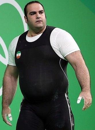Behdad Salimi - Behdad Salimi in 2016, during the olympic games