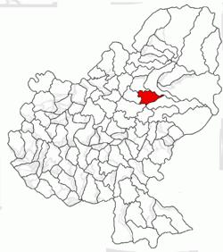 Vị trí của Beica de Jos