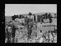 Beit Ed-Din. The Shehab Palace (held as a national monument). The Palace LOC matpc.15449.jpg