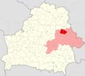 Belarus, Mahilioŭskaja voblasć, Škloŭski rajon.png