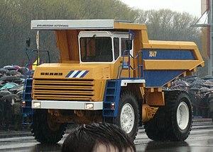 BelAZ - Mining dump truck BelAZ-7547