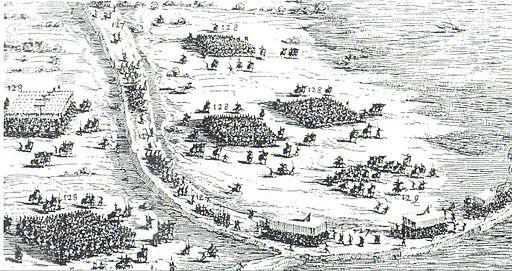 Beleg van Breda 1624 - Staatse aanval op Terheijden