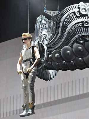 "All Around the World (Justin Bieber song) - Bieber performing ""All Around the World"" during his Believe Tour in October 2012."