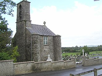Drumquin - Bell tower at St Patrick's church, Drumquin