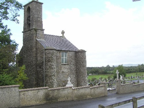 Bell tower at St Patrick's church, Drumquin