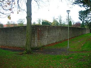 Walled garden enclosed garden