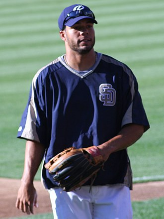 Ben Johnson (outfielder) - Johnson with the San Diego Padres in 2006