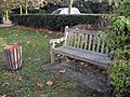 Bench in Harwich Road Ardleigh - geograph.org.uk - 1590839.jpg
