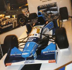 8b9ec41907 Michael Schumacher s Benetton B195 at the 1996 Autosport International Show