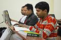 Bengali Wikipedia Editathon - Bengali Wikipedia 10th Anniversary Celebration - Jadavpur University - Kolkata 2015-01-10 3421.JPG