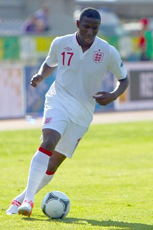 Benik Afobe - Afobe playing for England U19s in 2012