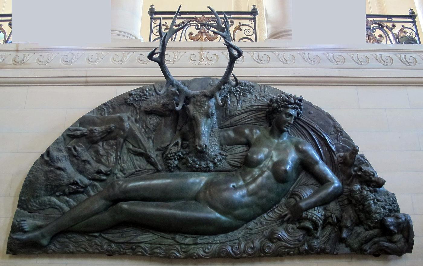 Nymphe de Fontainebleau
