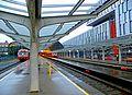 Bergen stasjon - perrongområdet mot stasjonshallen.jpg