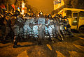 Berkut riot police tries to stop protesters, Kiev, December 10, 2013.jpg