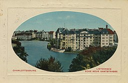 Lietzensee, J. Goldiner, Berlin [Public domain], via Wikimedia Commons