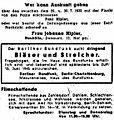 Berliner Zeitung - Kleinanzeigen - 9. Juni 1945.jpg