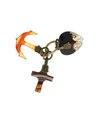 Berlock tro, hopp och kärlek av agat - Hallwylska museet - 109597.tif