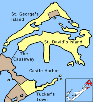 St. David's Island, Bermuda - St. David's Island, as it appears today.