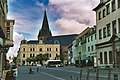 Bernburg (Saale), town square, Mary´s Church and former town hall of the lower city.jpg